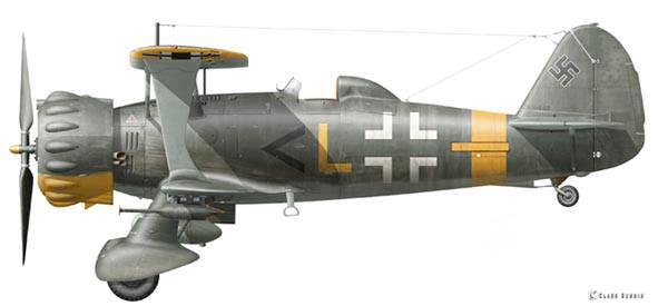 Progress on the Henschel Hs 123 profile