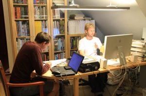 Morten and Andrew