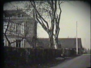 Wartime shot of Beaumont-le-Roger area