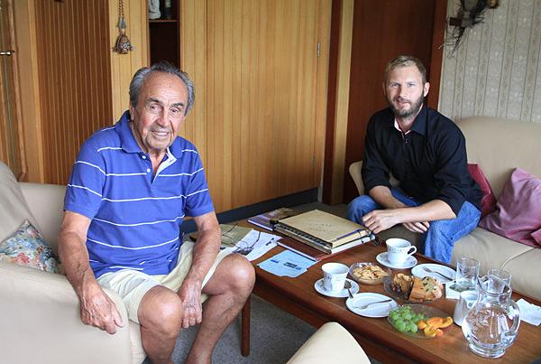 Interview with Stuka pilot Hans Deibl