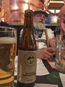 Enjoying the finest beer in Sweden ... Luftwaffe Beer!