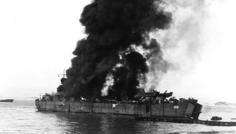 New eArticle – The Sinking of LST-158