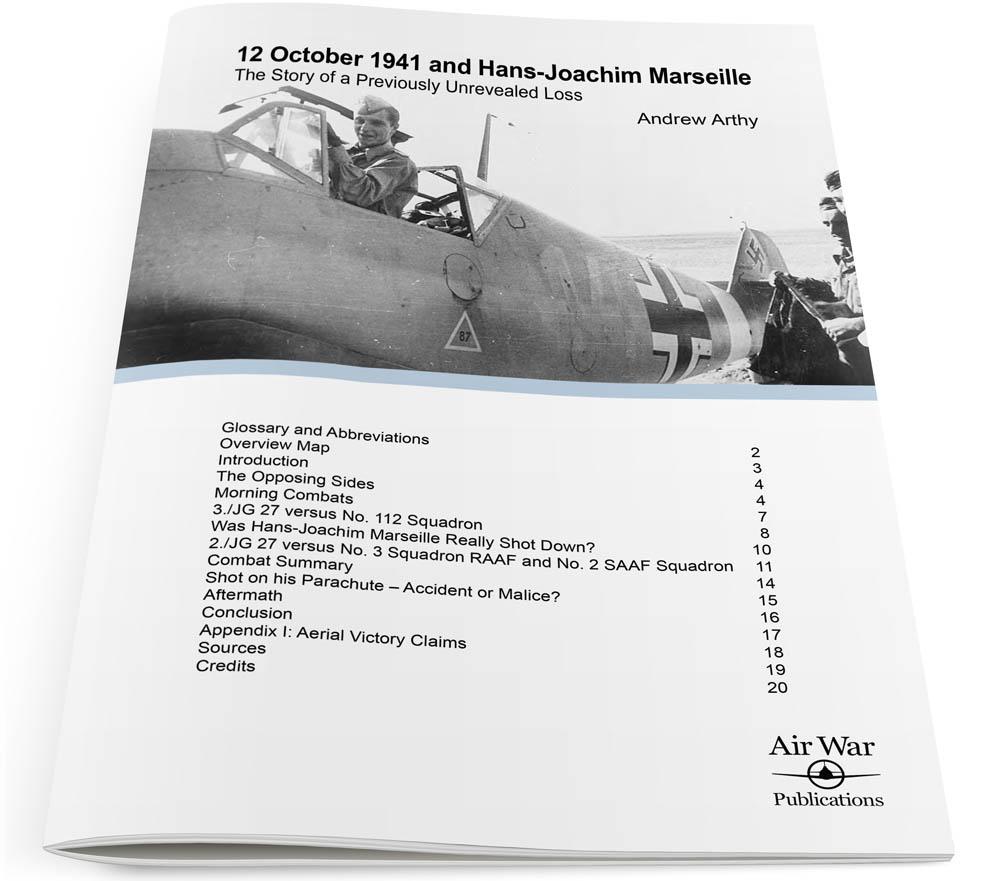 12 October 1941 and Hans-Joachim Marseille