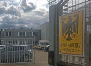 Entrance to the Bundesarchiv in Freiburg