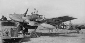 Bf 110 in the desert