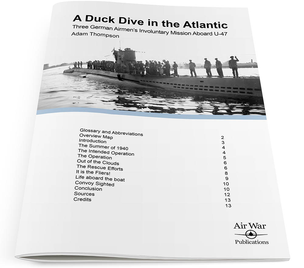 A Duck Dive in the Atlantic