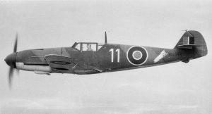 Oswald Fischer's Bf 109