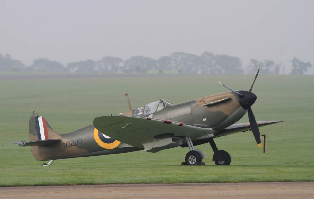 Morning haze Spitfire