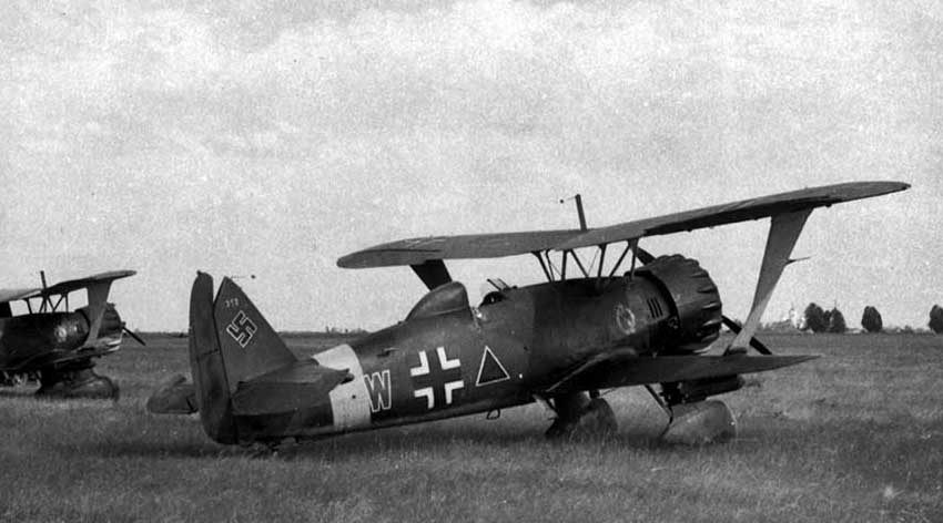 The Henschel Hs 123 Project … Good Progress