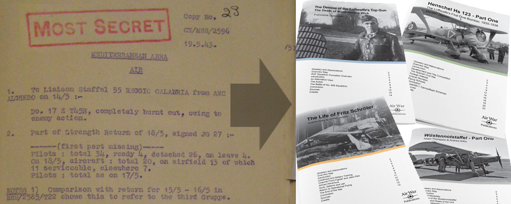 eArticle Creation – The How-To of Air War Publications