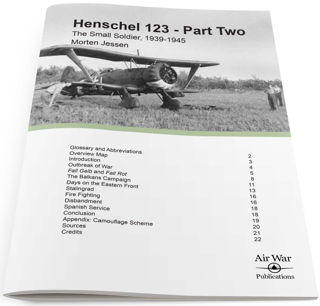 Henschel 123 – Part Two