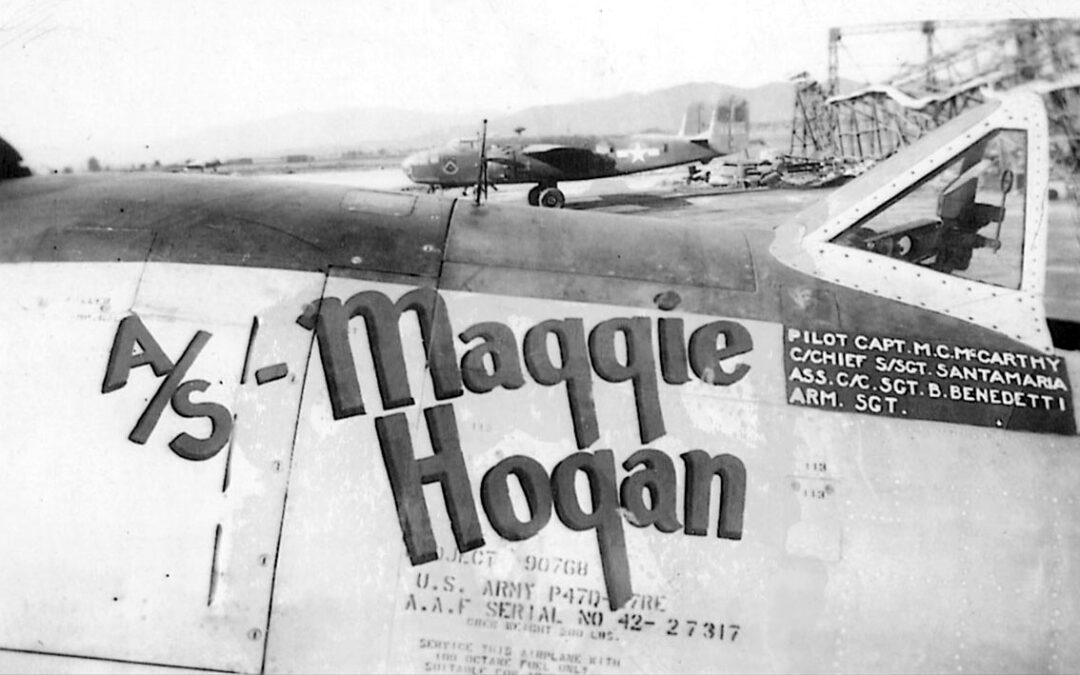 P-47D belonging to Michael C. McCarthy