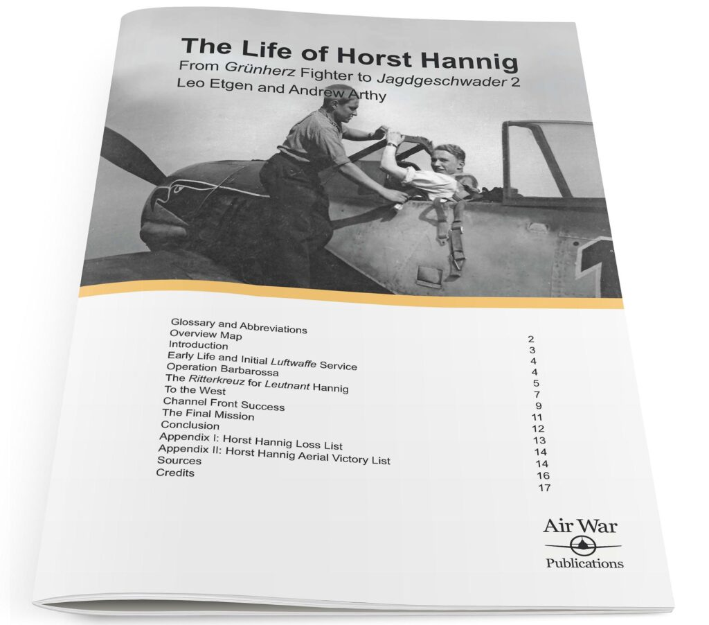 The Life of Horst Hannig