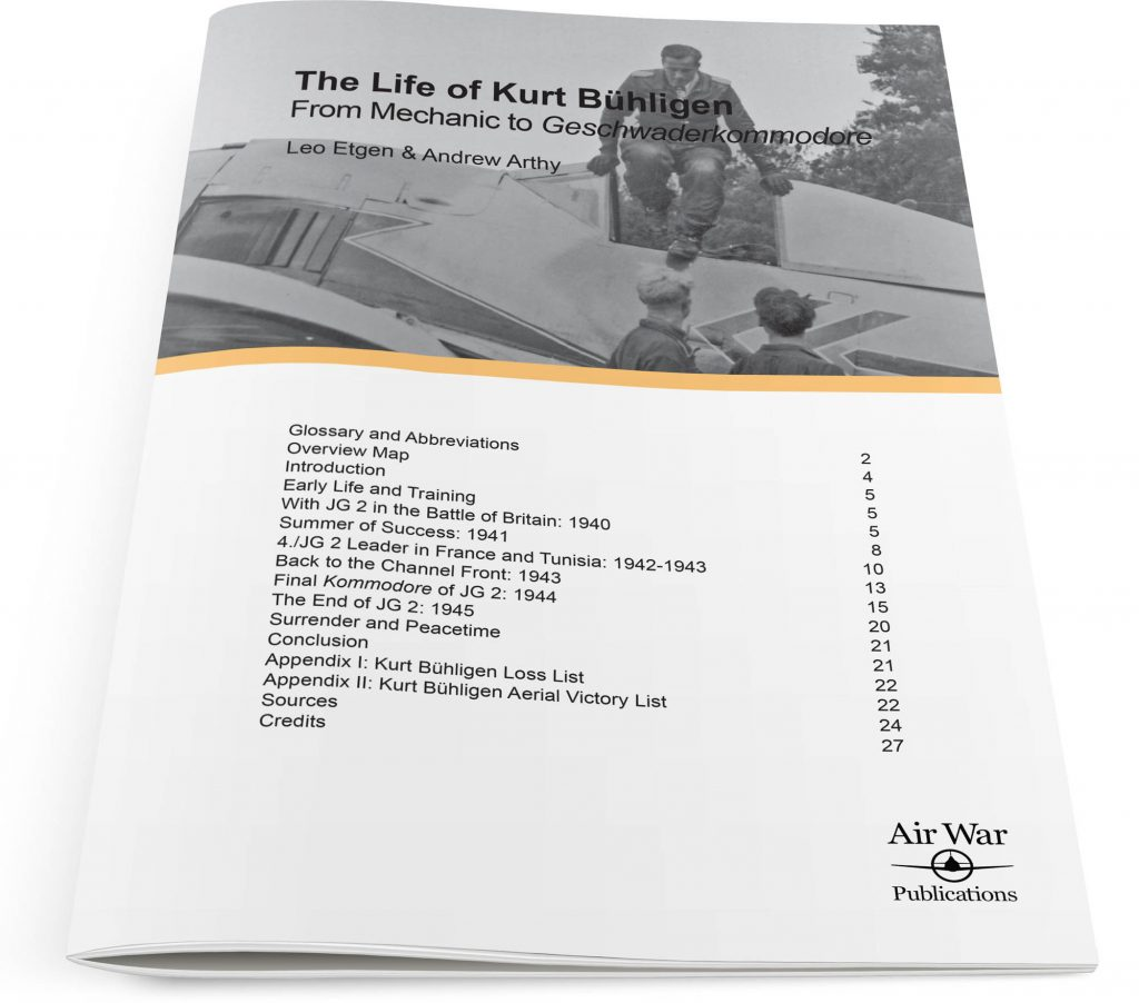 The Life of Kurt Bühligen